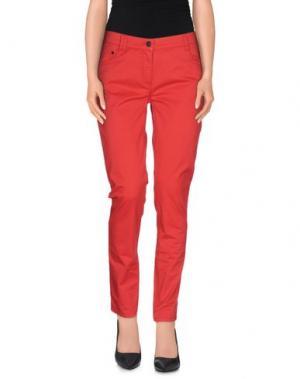 Повседневные брюки DONNAVVENTURA by ALVIERO MARTINI 1a CLASSE. Цвет: красный