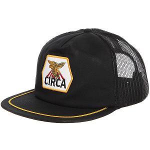 Бейсболка с сеткой  Ranger Mesh Snap Back Black Circa. Цвет: черный