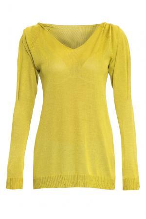 Джемпер 146155 Firkant. Цвет: желтый