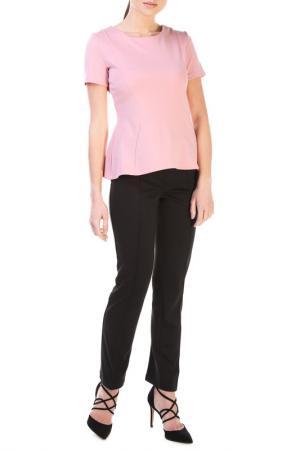 Комплект: блуза, брюки JULIET ROSES. Цвет: розовый, черный