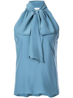 Блузка без рукавов Prabal Gurung. Цвет: синий