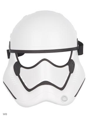 Маска героя вселенной Звездные Войны эпизод 8 Star Wars. Цвет: белый