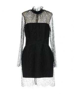 Короткое платье HERVE' L. LEROUX. Цвет: черный