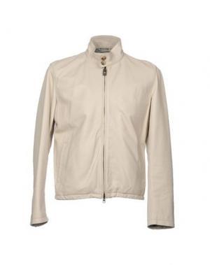 Куртка LUIGI BORRELLI NAPOLI. Цвет: светло-серый
