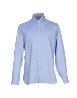 Pубашка DANOLIS. Цвет: небесно-голубой