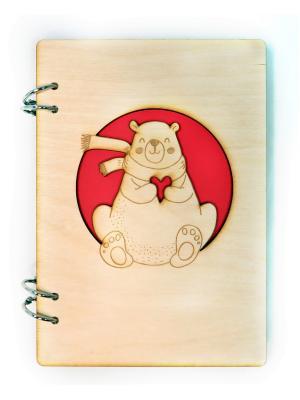 Блокнот для зарисовок Sketchbook Фолиант. Цвет: светло-коричневый, бежевый, красный