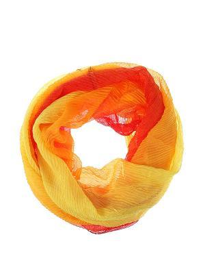 Снуд Migura. Цвет: оранжевый, желтый, красный