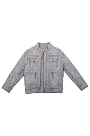 Куртка Gulliver. Цвет: серый