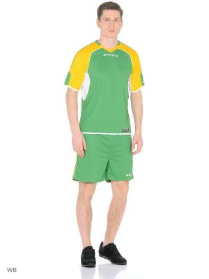 Костюм SOCCER SUIT SS (PTR1268) Patrick. Цвет: белый, зеленый, желтый