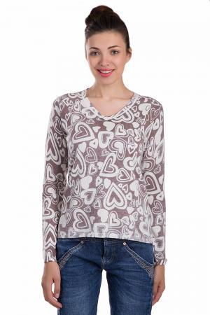Пуловер Apanage. Цвет: коричневый