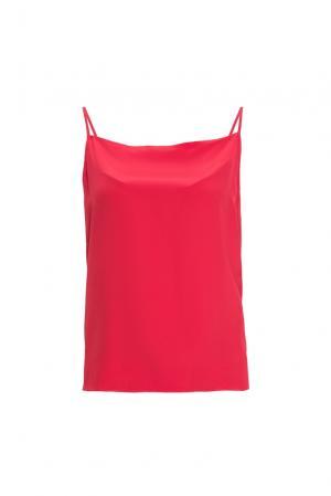 Топ из шелка 159957 Mari Axel. Цвет: красный
