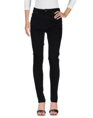 Джинсовые брюки TIGER OF SWEDEN. Цвет: черный