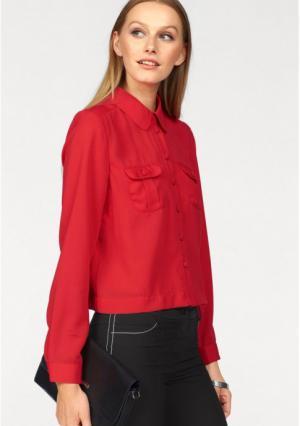 Блузка BRUNO BANANI. Цвет: светло-красный