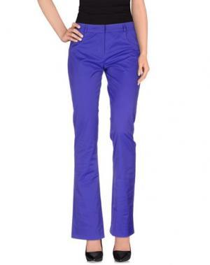 Повседневные брюки GAI MATTIOLO. Цвет: фиолетовый