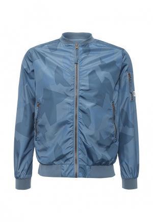 Куртка CLWR. Цвет: голубой