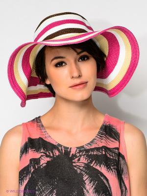 Шляпа Baon. Цвет: розовый, белый, светло-желтый