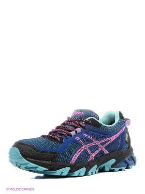 Спортивная обувь GEL-SONOMA 2 G-TX ASICS. Цвет: синий, голубой, розовый