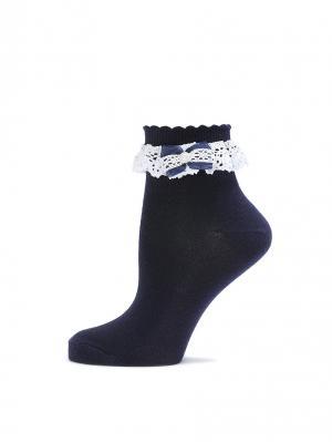 Носки LARMINI. Цвет: темно-синий