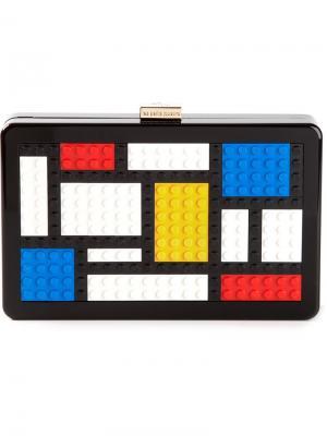 Клатч Mondrian Les Petits Joueurs. Цвет: чёрный