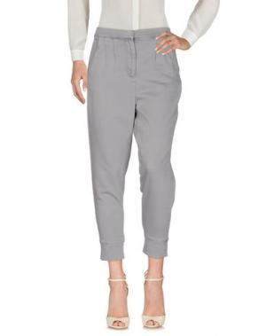 Повседневные брюки MIGUEL PALACIO for HOSS INTROPIA. Цвет: серый
