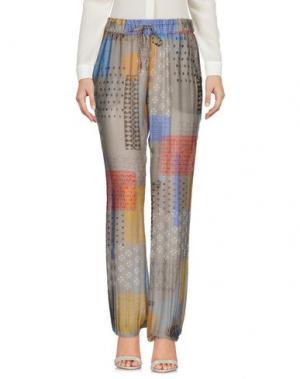 Повседневные брюки MOSAIQUE. Цвет: серый