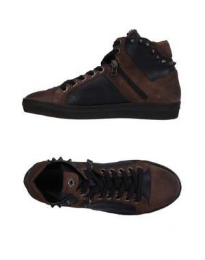Высокие кеды и кроссовки JANET SPORT. Цвет: темно-коричневый