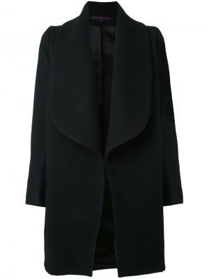 Пальто свободного кроя Martin Grant. Цвет: чёрный