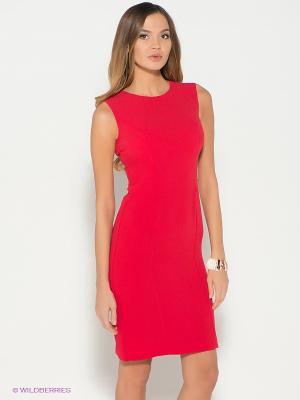 Платье KEY FASHION. Цвет: красный