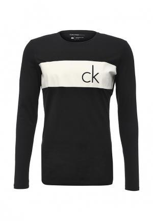 Лонгслив Calvin Klein Jeans. Цвет: черный