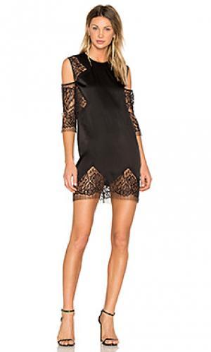 Платье-футляр Michelle Mason. Цвет: черный