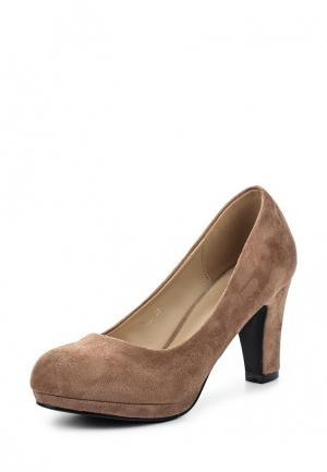 Туфли Encor. Цвет: коричневый