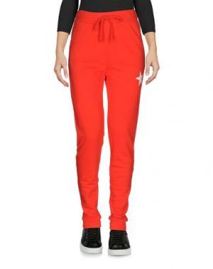 Повседневные брюки MY T-SHIRT. Цвет: красный