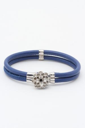 Браслет Samsara. Цвет: синий