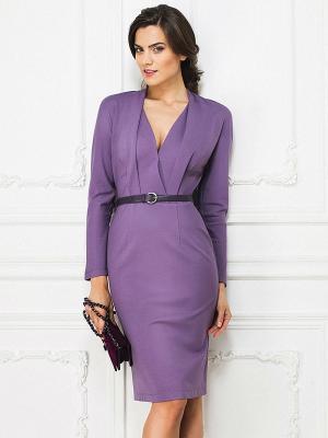Платье La vida rica. Цвет: сиреневый