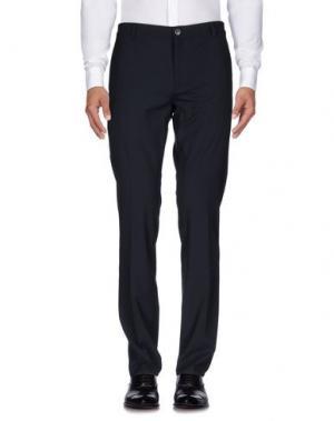 Повседневные брюки JOHN VARVATOS. Цвет: темно-синий