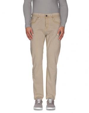 Джинсовые брюки TRUE RELIGION. Цвет: песочный