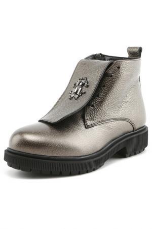 Ботинки Sandm. Цвет: бронзовый