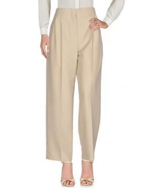 Повседневные брюки CÉLINE. Цвет: бежевый