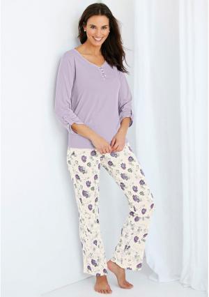 Пижама Venca. Цвет: фиолетовый (лавандовый)