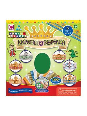 The ORB Factory. Стильные штучки: Мозаика-набор Короны Королей (6 шт.) factory. Цвет: зеленый, желтый, красный