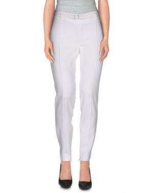 Повседневные брюки CRISTINAEFFE COLLECTION. Цвет: белый