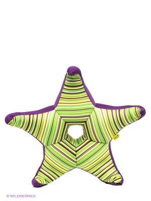 Подушка Экспетро. Цвет: зеленый, фиолетовый