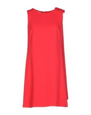 Короткое платье PIU' &. Цвет: коралловый