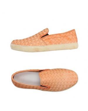 Низкие кеды и кроссовки PANTOFOLA D'ORO. Цвет: оранжевый