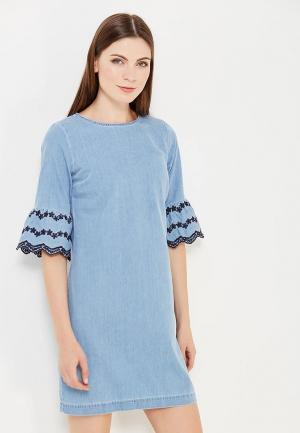 Платье джинсовое Dorothy Perkins. Цвет: голубой