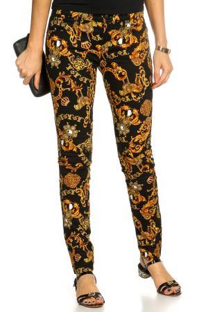 Брюки джинсовые JUICY СOUTURE. Цвет: черный