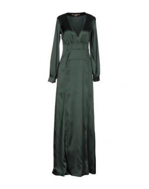 Длинное платье BABYLON. Цвет: зеленый-милитари