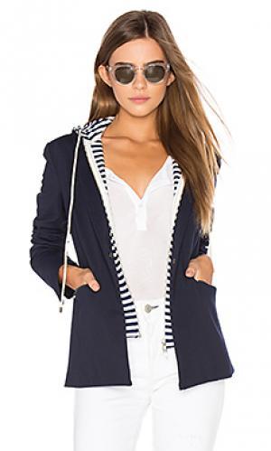 Куртка с капюшоном savannah Central Park West. Цвет: синий