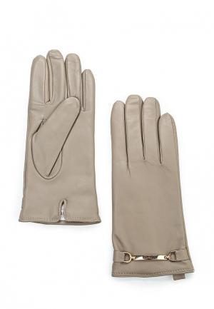 Перчатки Guess. Цвет: серый