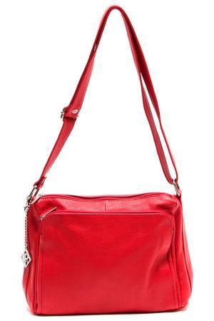 Деловая сумка Isabella Rhea. Цвет: красный